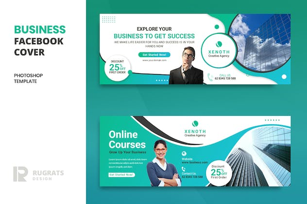 Business r3 Facebook Cover Template