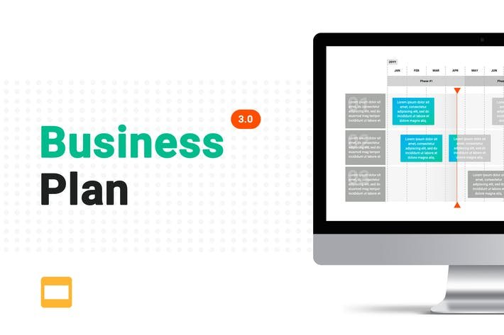 Thumbnail for Business Plan 3.0 Google Slides