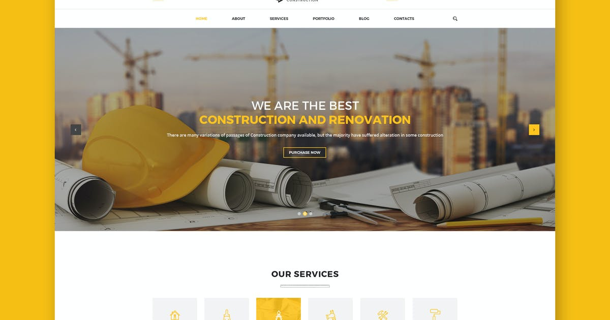 Construction PSD Template by Unknow