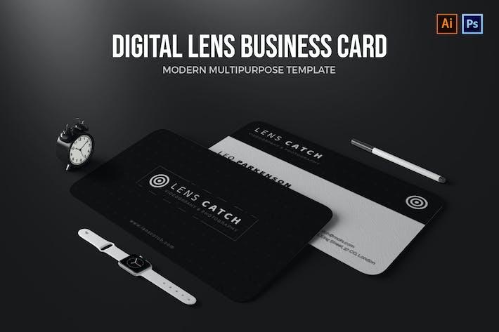 Thumbnail for Digital Lens - Business Card