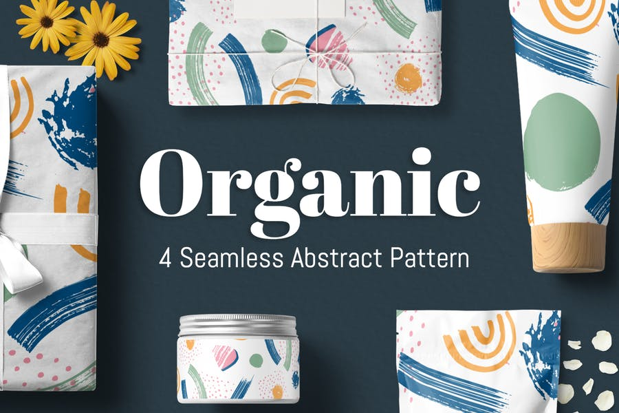 Organisches abstraktes Muster
