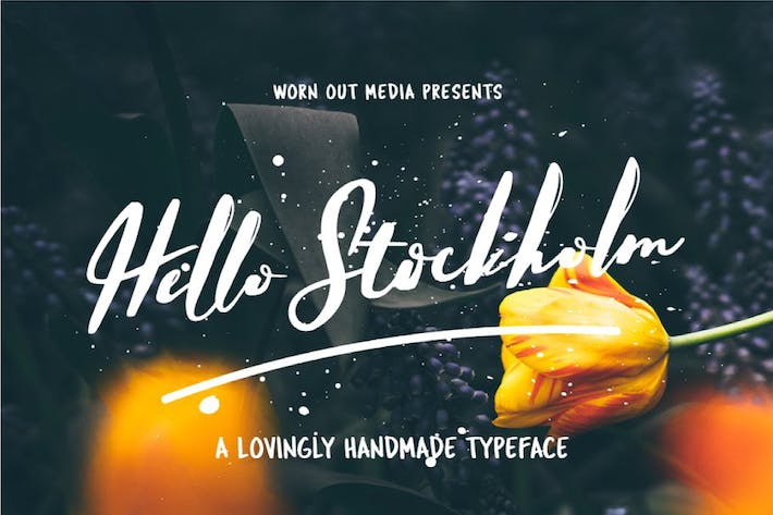 Thumbnail for Hello Stockholm - Handmade Typeface