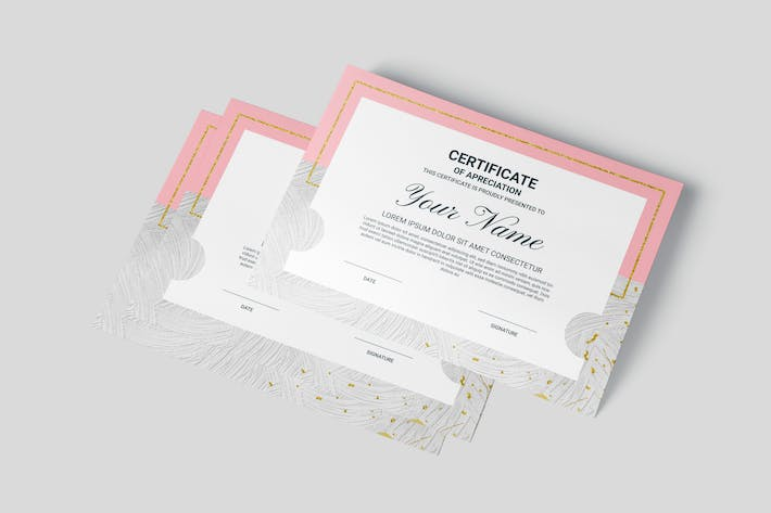 Thumbnail for Simple Award Multipurpose Certificates