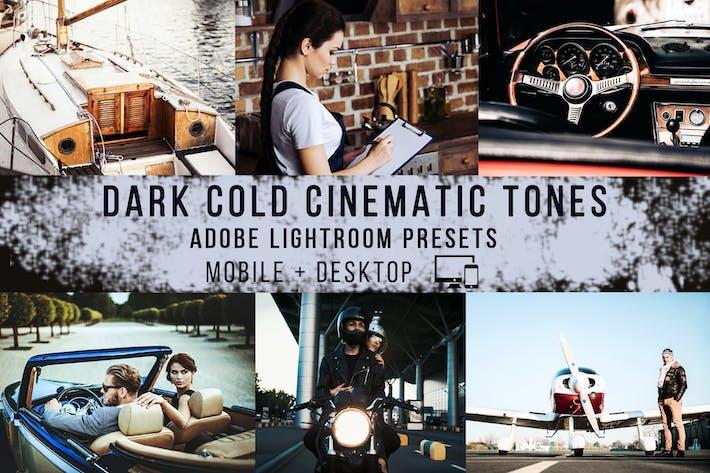 Thumbnail for Пресеты темных холодных Кинематографическая световых комнат