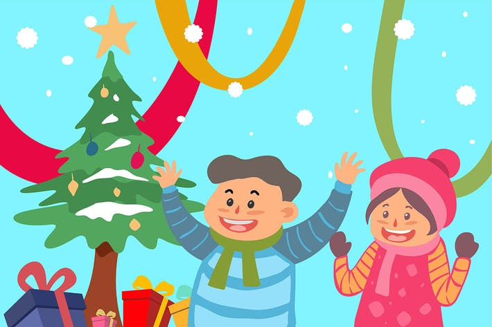 Thumbnail for kids christmas gifts - illustration