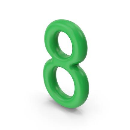 Numero 8 Verde