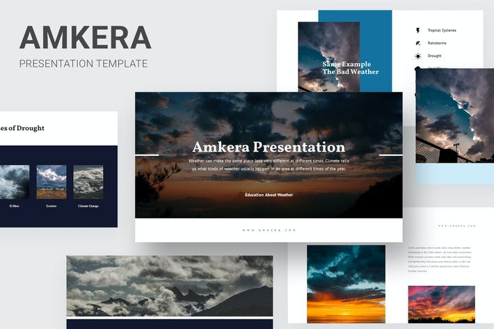 Thumbnail for Amkera - Education About Weather Keynote