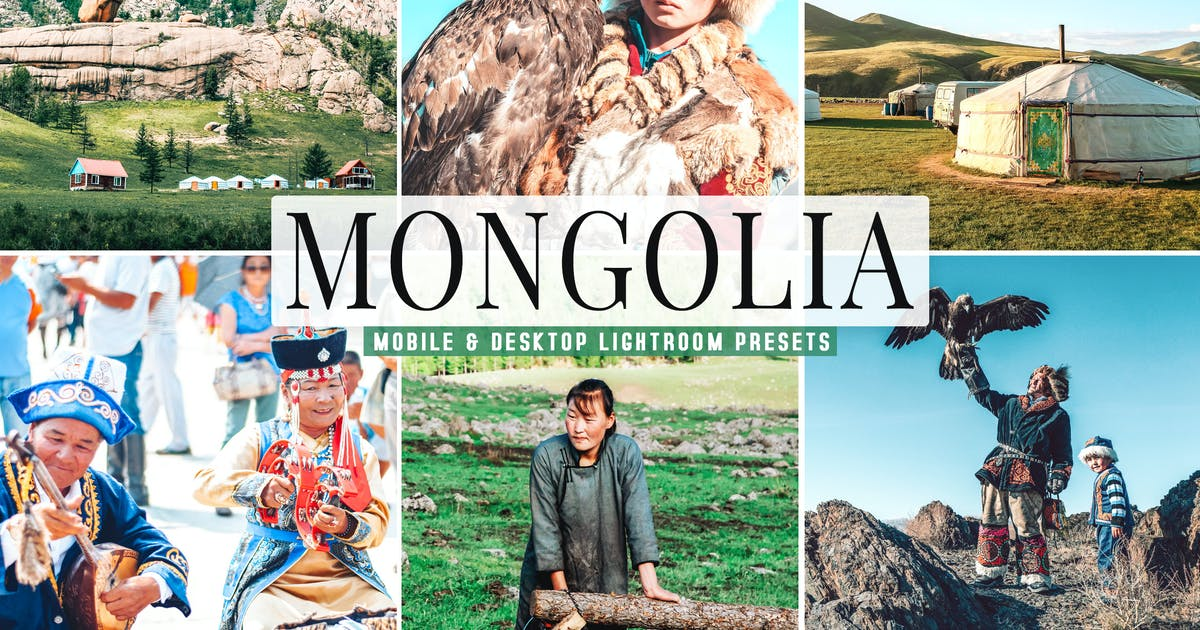 Download Mongolia Mobile & Desktop Lightroom Presets by creativetacos