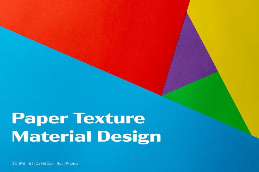 Papiertextur - Materialdesign