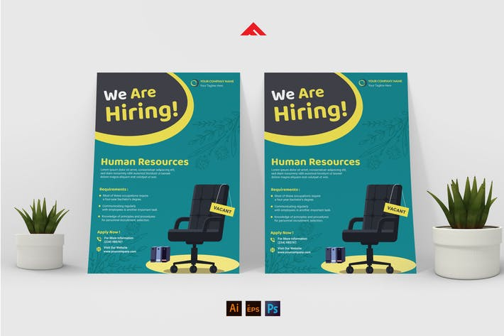 Thumbnail for Human Resources Job Hiring Advertisement