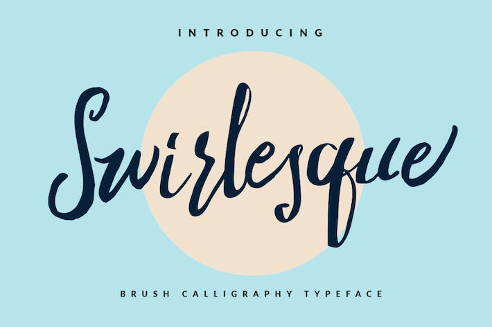 Thumbnail for Swirlesque Brush Script Signature