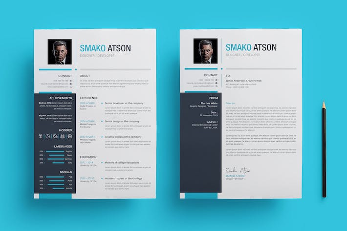 Thumbnail for Resume Template 33