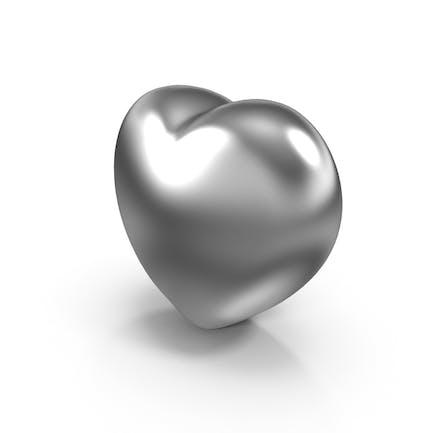 Серебряное сердце Валентина