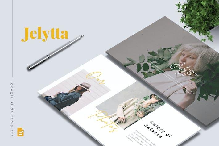 Thumbnail for JELYTTA - Creative Google Slides Template