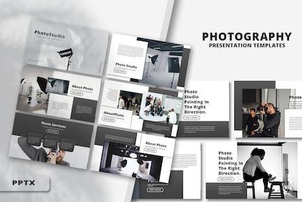 Фотостудия - Шаблон PowerPoint
