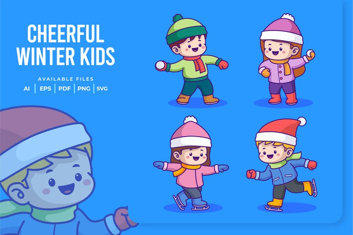 Thumbnail for Fröhliche Winterkinder