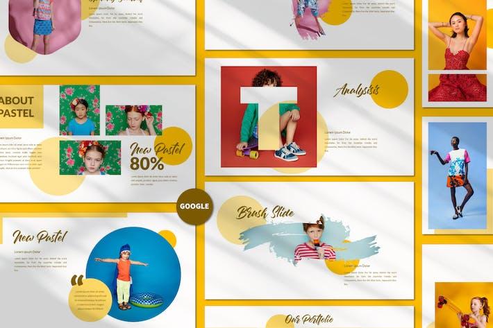 Thumbnail for New Pastel Business Googleslide Presentation - LS
