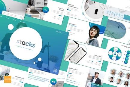 Stocks - Google Slides Template