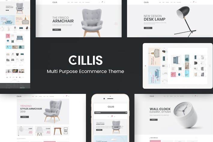 Thumbnail for Cillis - Furniture & Deco Prestashop Theme