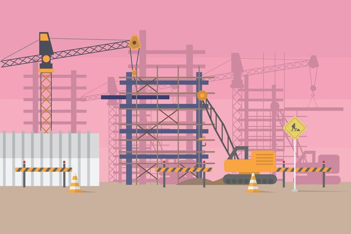 Thumbnail for Construction - Illustration Background