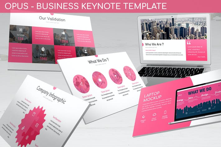 Thumbnail for Opus - Business Keynote Template