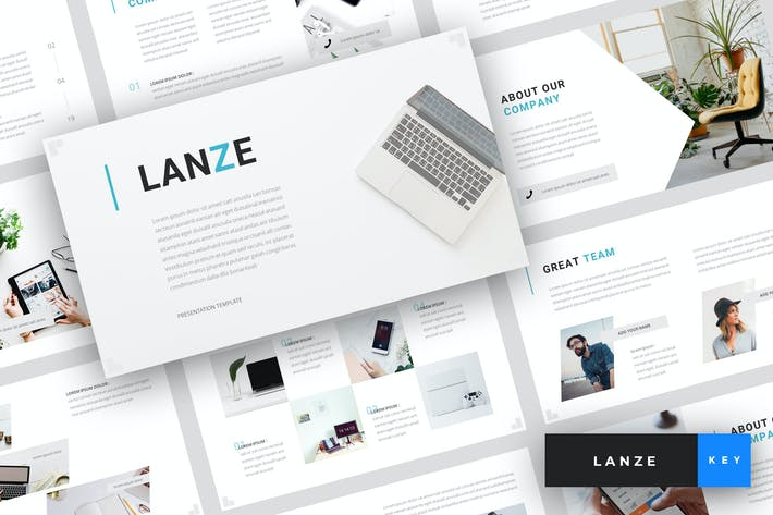 Cover Image For Lanze - Marketing Keynote Template