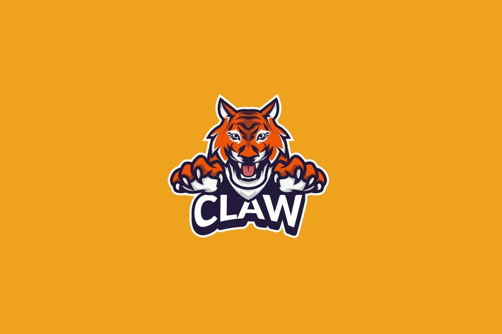 Tiger Claw E-Sport Gamer Logo