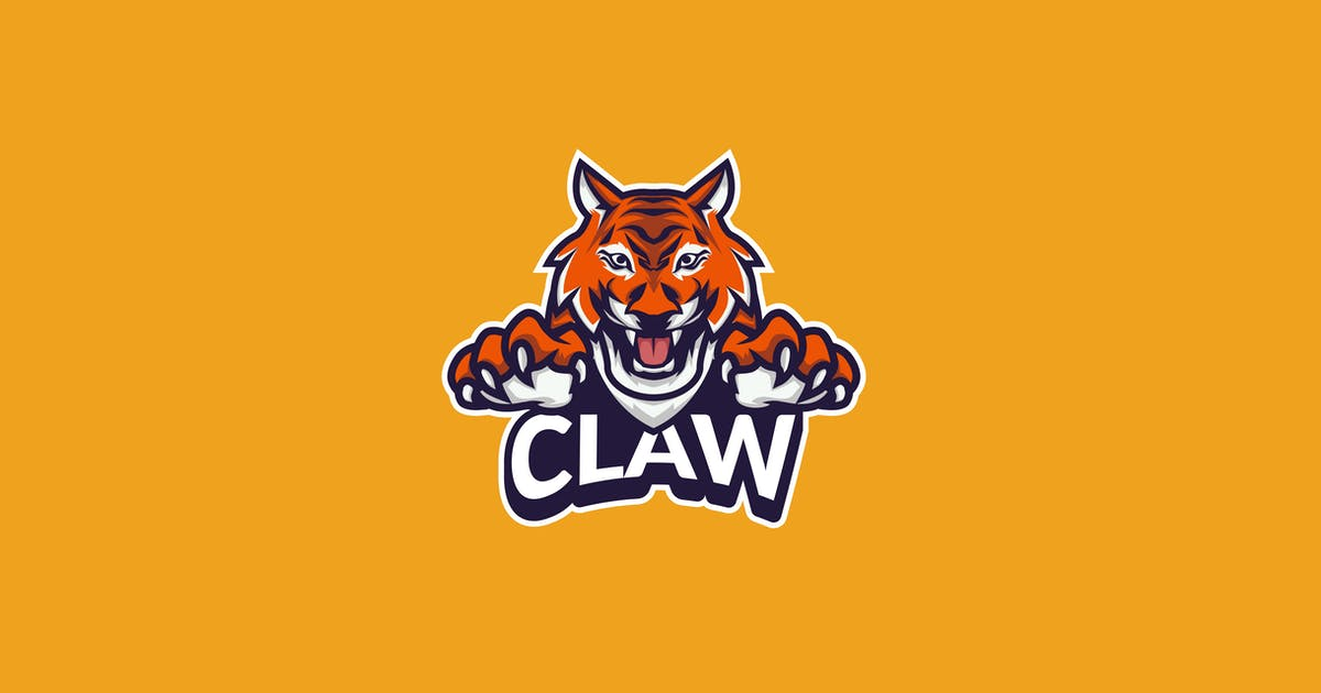 Download Tiger Claw E-Sport Gamer Logo by Slidehack