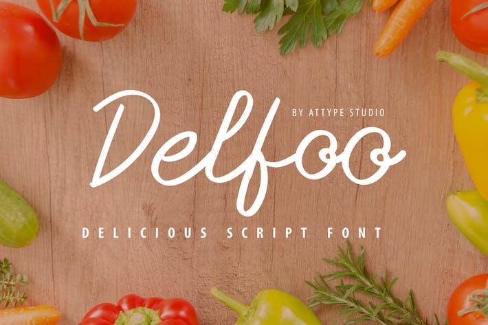 Thumbnail for Delfoo - Fuente de script