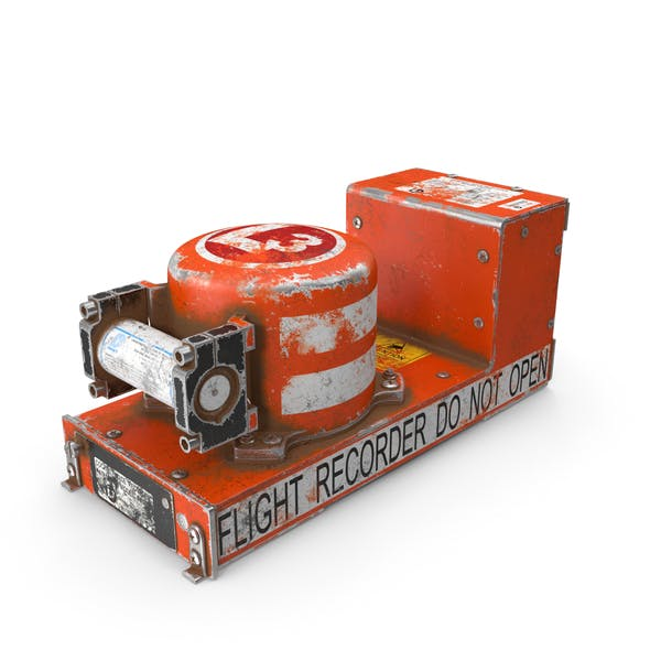 Black Box Flight Recorder Crashed