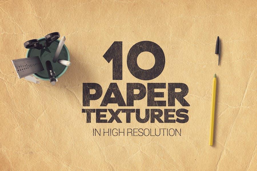 Paper Textures x10