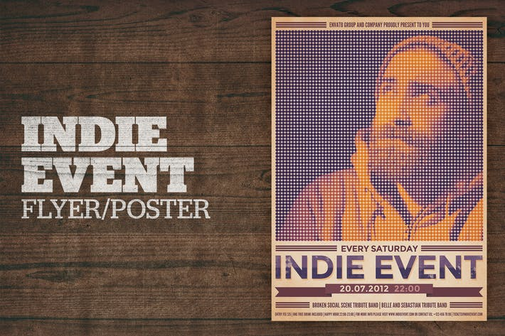 Thumbnail for Indie Event Poster
