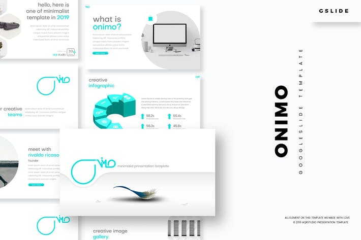 Cover Image For Onimo - Google Slide Template