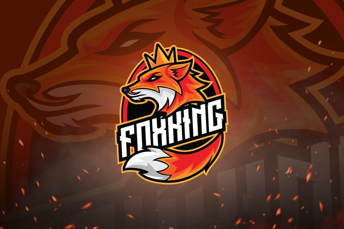 Thumbnail for Animal Mascot & Esport Logo V2 - Fox King