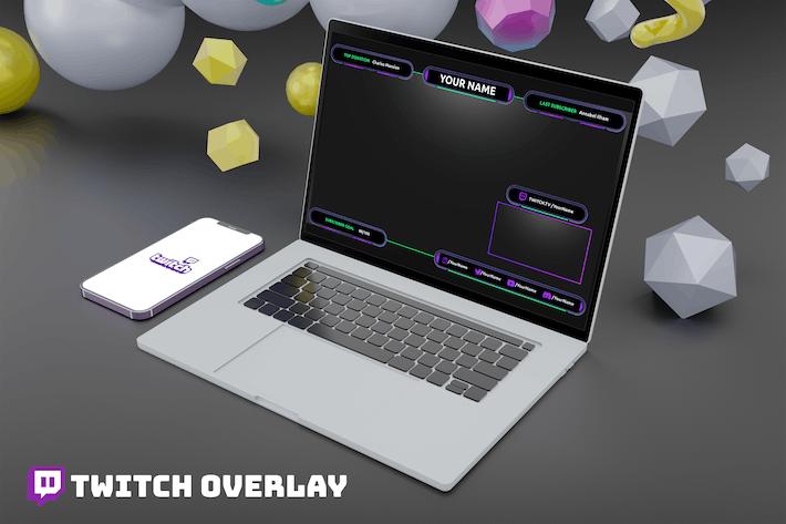 Joker - Twitch Overlay Template