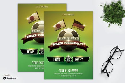 Soccer Flyer Template vol. 03 MR