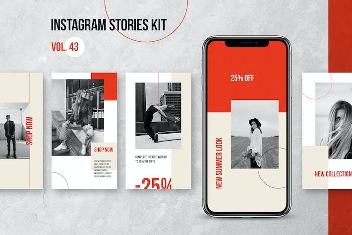Thumbnail for Instagram Stories Kit (Vol.44)