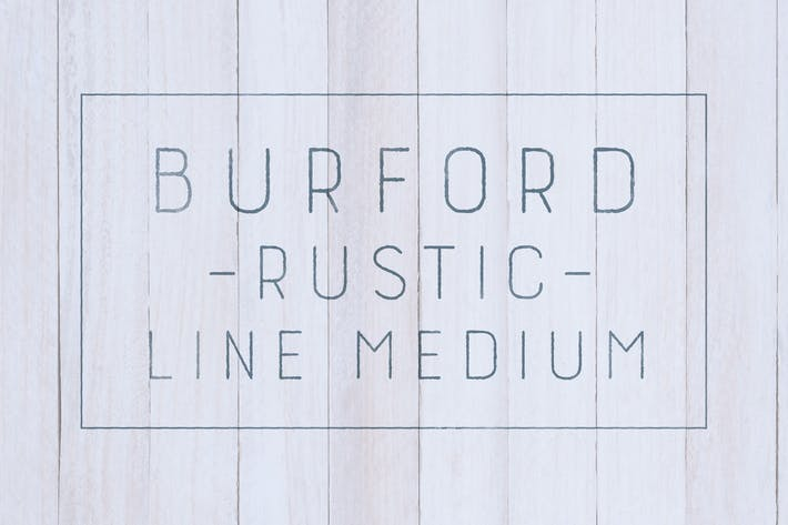 Thumbnail for Burford Rustic Line Medium