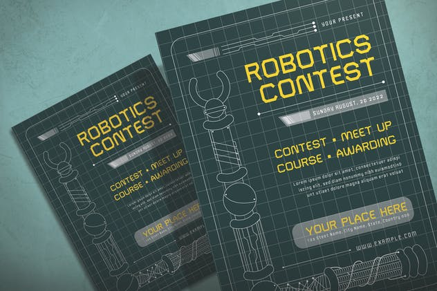Robotic - Flyer Template