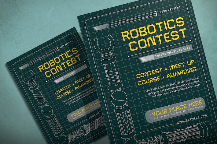 Thumbnail for Robotic - Flyer Template