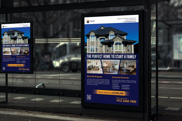 Thumbnail for Omahku Real Estate - Product Poster RB