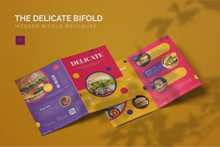 Delicate - Bifold Brochure