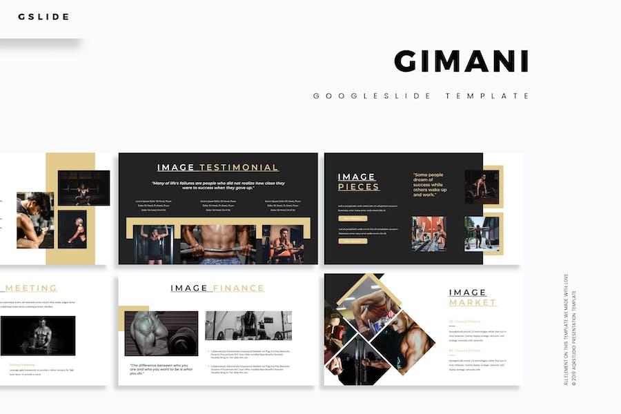 Gimani - Google Slides Template