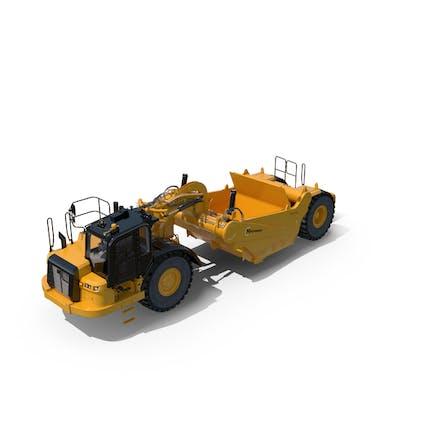 Wheel Tractor-Scrapers