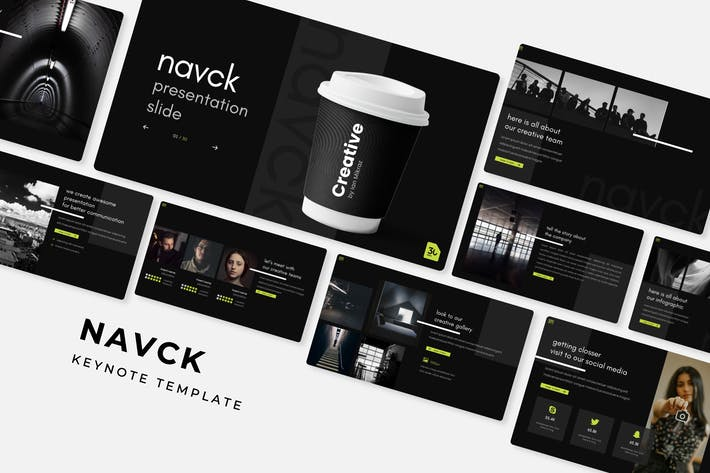 Thumbnail for Navck - Keynote Template