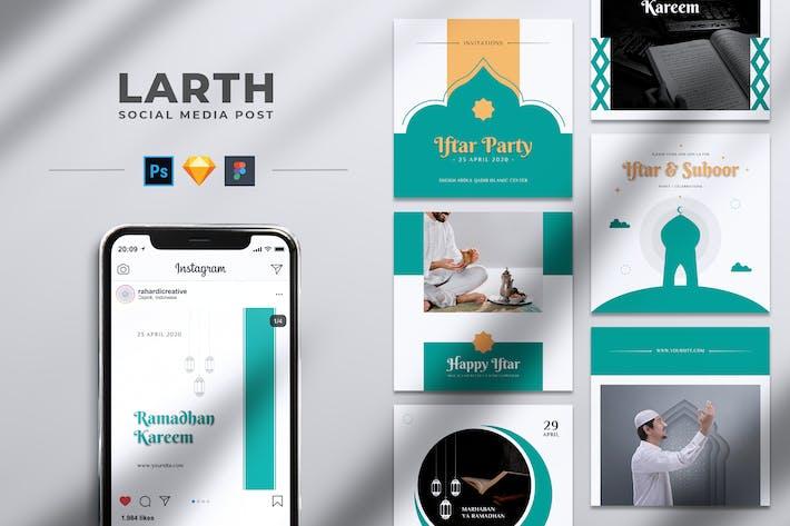 Thumbnail for LARTH Ramadhan Kareem Facebook & Instagram Post