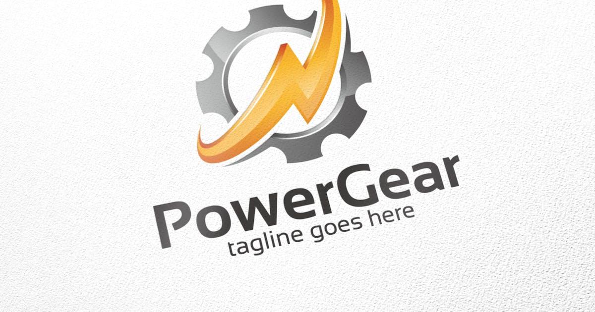 Power Gear - Logo Template by putra_purwanto