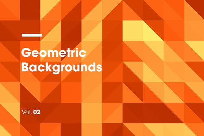 Cover Image For Geometric Backgrounds | Vol. 02