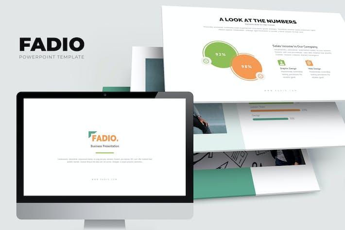 Fadio: Услуги консультантов по проектам Powerpoint