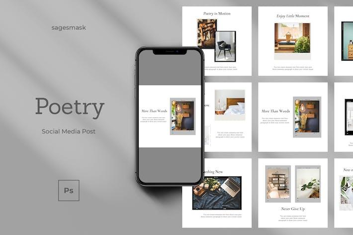Thumbnail for Poetry Social Media Post